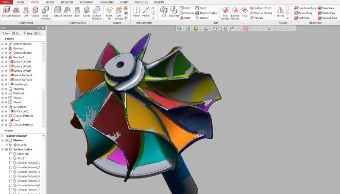 آموزش نرم افزار Geomagic Design X