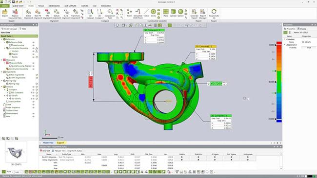 آموزش نرم افزار Geomagic Control X