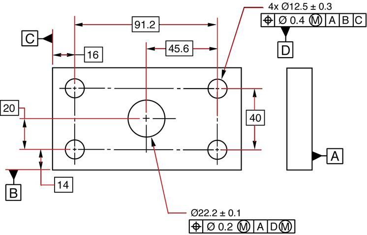آموزش کامل تلرانس های هندسی و ابعادی GD&T