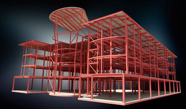 محیط Structure Design