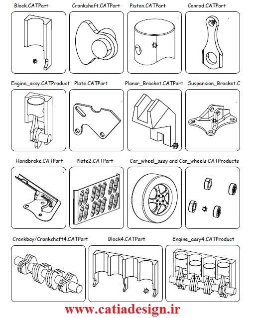 آموزش نرم افزار کتیا+pdf