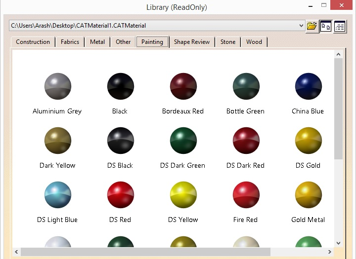 Catia material library free download
