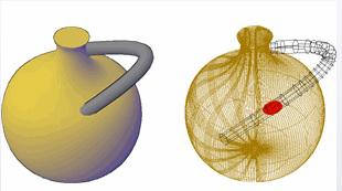 روشهای اجرای فرمان Interfere اتوکد سه بعدی