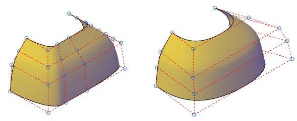 روشهای اجرای فرمان Surface – Rebuild اتوکد سه بعدی